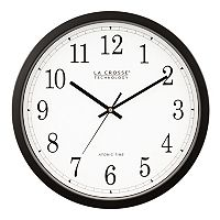 La Crosse Technology 14 in Atomic Analog Wall Clock