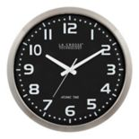 La Crosse Technology 16-in. Atomic Analog Wall Clock