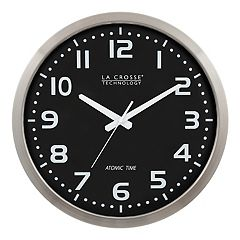 La Crosse Technology 16 in Atomic Analog Wall Clock