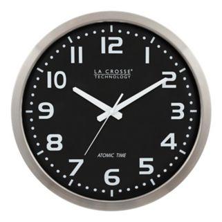 La Crosse Technology 16-in. Atomic Analog Wall Clock