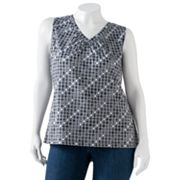 Apt. 9 Shirred Top - Women's Plus
