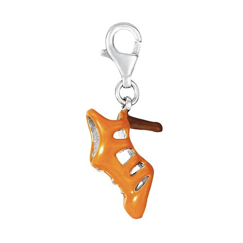 Sterling Silver High Heel Shoe Charm