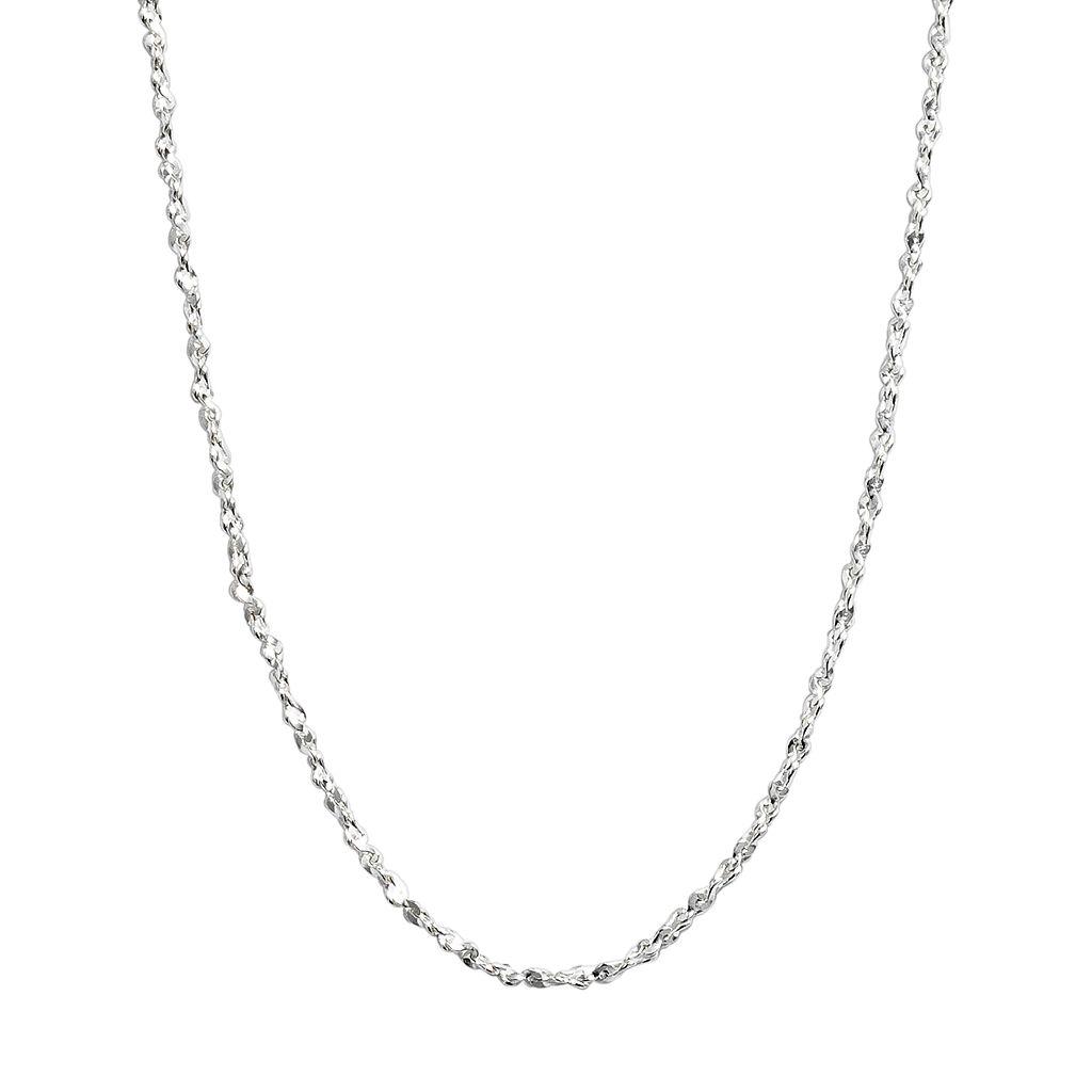 Pure 100 Twist Chain Necklace - 18-in.
