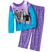 One Direction Mock-Layer 1D's Number 1 Girl Pajama Set - Girls