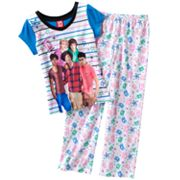 One Direction Striped Pajama Set - Girls