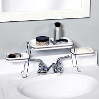 Zenna Home Small Spaces Faucet Shelf