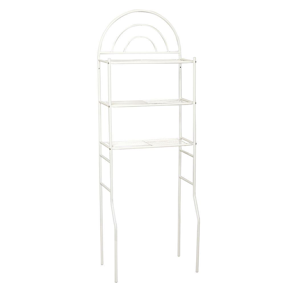 Zenna Home Arch 3-Shelf Space Saver