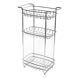 Zenna Home Slimline 3-Shelf Floor Stand