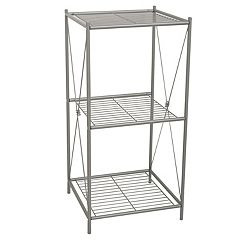 Zenith Cross Style 3-Shelf Floor Stand