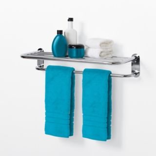 Zenith Hotel Style Towel Bar & Shelf