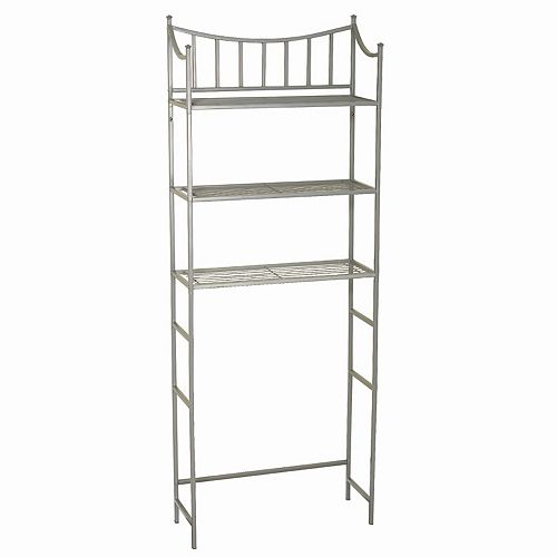 Zenna Home Medina 3-Shelf Space Saver