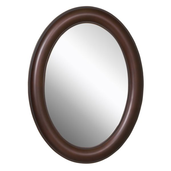 Zenith Products 22 X 30 Oval Mirror Medicine Cabinet Oil Rubbed Bronze Oval Bathroom Mirrors