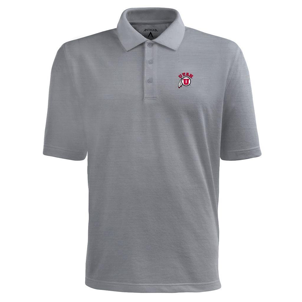Men's Utah Utes Pique Xtra Lite Polo