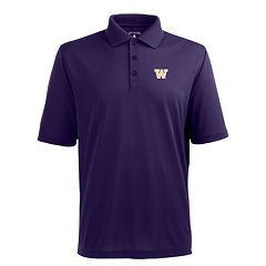 Men's Washington Huskies Pique Xtra Lite Polo