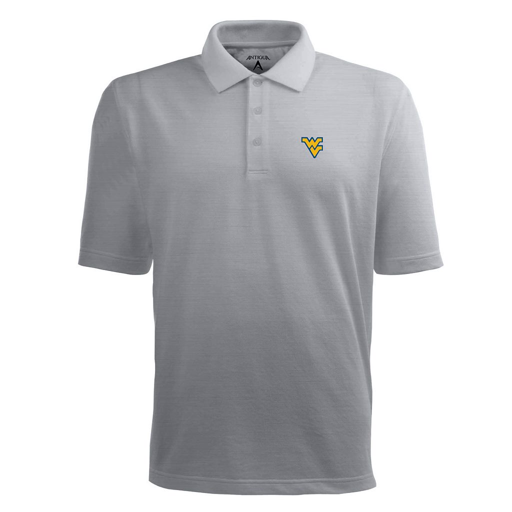Men's West Virginia Mountaineers Pique Xtra Lite Polo
