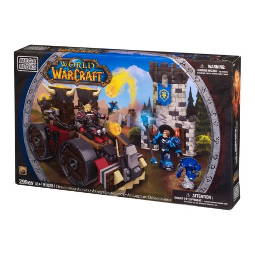 World of Warcraft Demolisher Attack by Mega Bloks - 91026