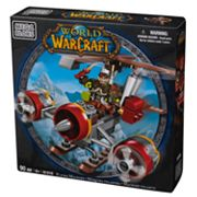 World of Warcraft Flying Machine and Flint by Mega Bloks - 91018
