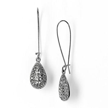 Simply Vera Vera Wang Teardrop Earrings