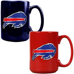 Buffalo Bills 2 pc Ceramic Mug Set