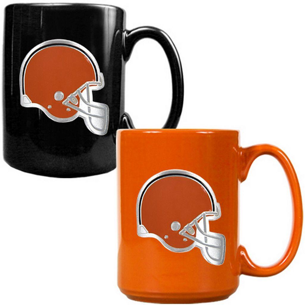 Cleveland Browns 2-pc. Ceramic Mug Set