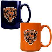 Chicago Bears 2 pc Ceramic Mug Set