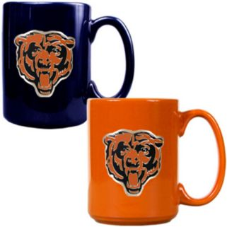 Chicago Bears 2-pc. Ceramic Mug Set