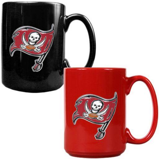 Tampa Bay Buccaneers 2-pc. Ceramic Mug Set