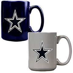 Dallas Cowboys 2 pc Ceramic Mug Set