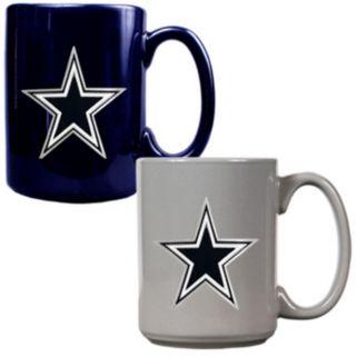 Dallas Cowboys 2-pc.Ceramic Mug Set