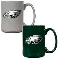 Philadelphia Eagles 2-pc. Ceramic Mug Set
