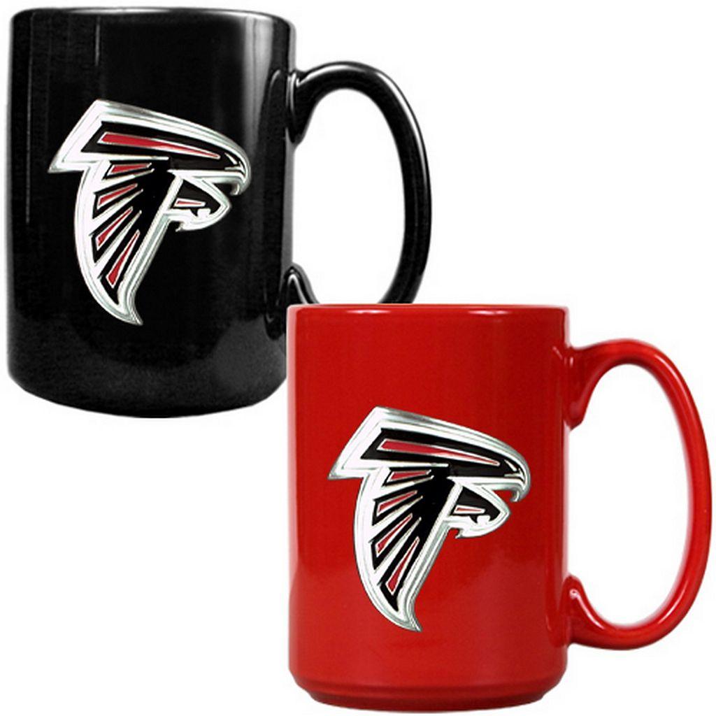 Atlanta Falcons 2-pc. Ceramic Mug Set