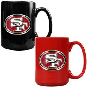 San Francisco 49ers 2-pc. Ceramic Mug Set