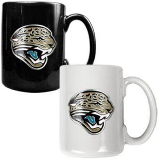 Jacksonville Jaguars  2-pc. Ceramic Mug Set