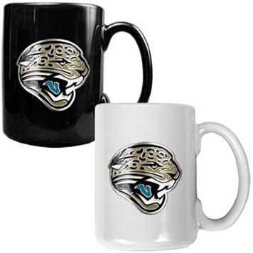 Jacksonville Jaguars 2-pc. Ceramic Mug Set