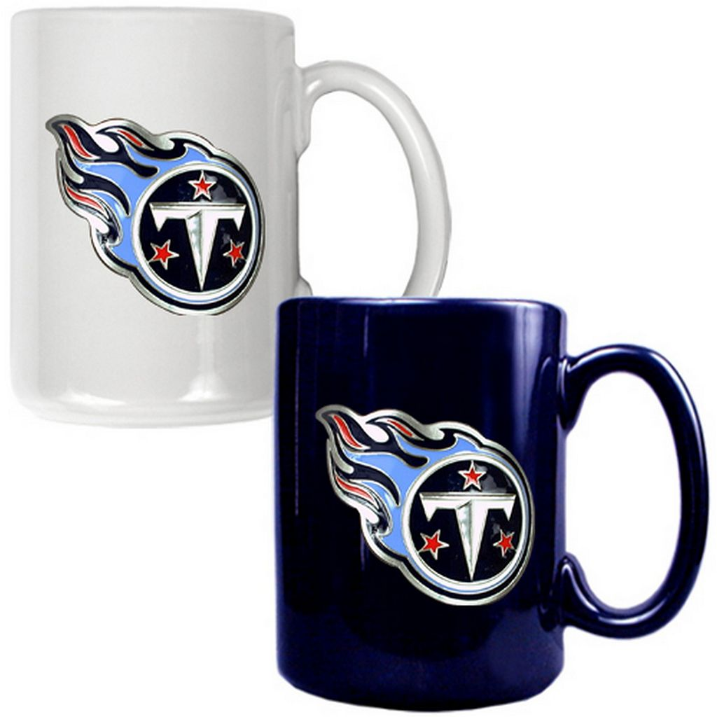 Tennessee Titans 2-pc. Ceramic Mug Set