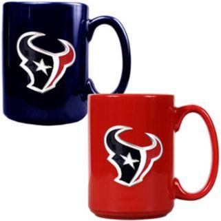Houston Texans 2-pc. Ceramic Mug Set