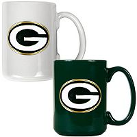 Green Bay Packers 2-pc. Ceramic Mug Set
