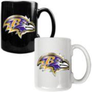 Baltimore Ravens 2-pc. Ceramic Mug Set