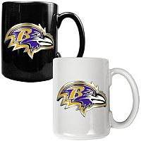 Baltimore Ravens 2 pc Ceramic Mug Set