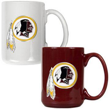 Washington Redskins 2-pc. Ceramic Mug Set
