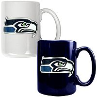 Seattle Seahawks 2-pc. Ceramic Mug Set