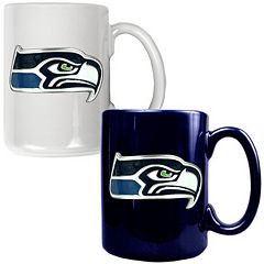 Seattle Seahawks 2 pc Ceramic Mug Set