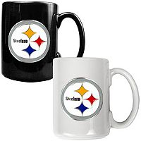Pittsburgh Steelers 2-pc. Ceramic Mug Set