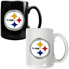 Pittsburgh Steelers 2 pc Ceramic Mug Set