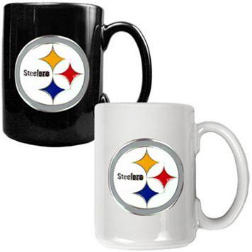 Pittsburgh Steelers 2-pc. Ceramic Mug Set