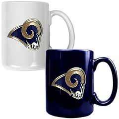 Los Angeles Rams 2 pc Ceramic Mug Set