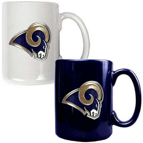 Los Angeles Rams 2-pc. Ceramic Mug Set