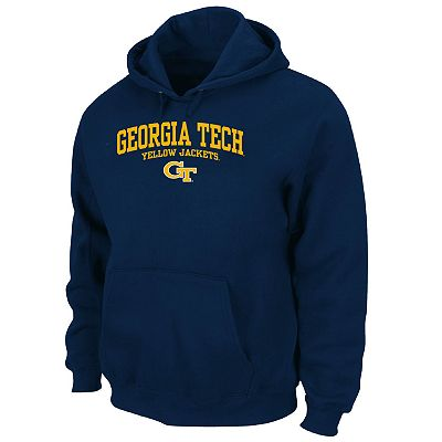 Georgia Tech Yellow Jackets Pullover Fleece Hoodie - Big and Tall