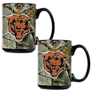Chicago Bears 2-pc. Open Field Ceramic Mug Set