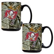 Tampa Bay Buccaneers 2-pc. Open Field Ceramic Mug Set